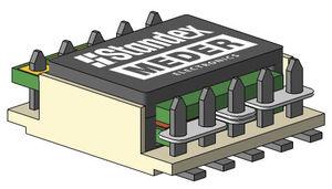 transformateur d'isolement / planaire / à insérer / monophasé