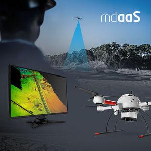UAV quadricoptère