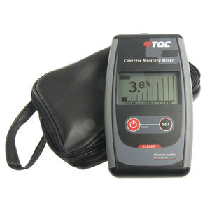 humidimètre pour le béton / capacitif / avec afficheur numérique / portatif