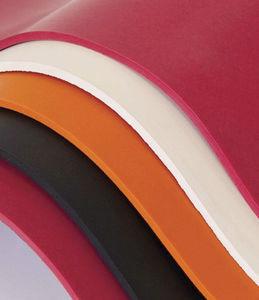 feuille en caoutchouc pour applications hydrauliques