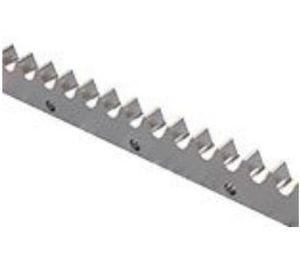 crémaillère à denture droite