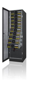 UPS à double conversion / triphasé / industriel / modulaire