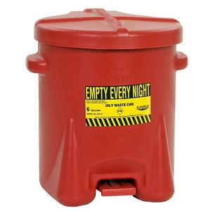 poubelle en polyéthylène