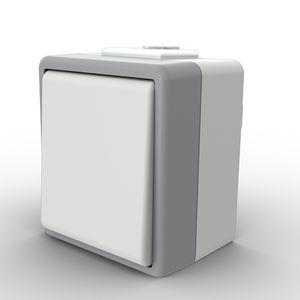 interrupteur à bascule / unipolaire / en thermoplastique / en polycarbonate