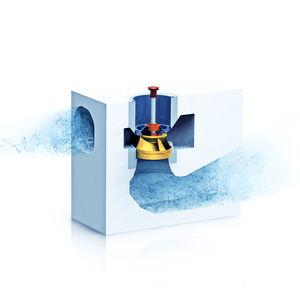 pompe verticale / à eau / centrifuge à volute / industrielle