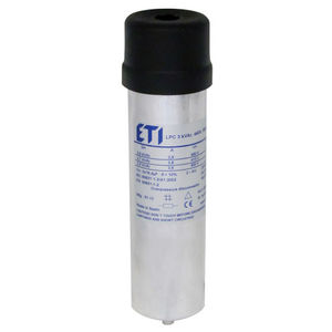condensateur à film de polypropylène / cylindrique / de correction de facteur de puissance / sec