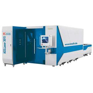 système de découpe laser / pour métal / de tôle / CNC
