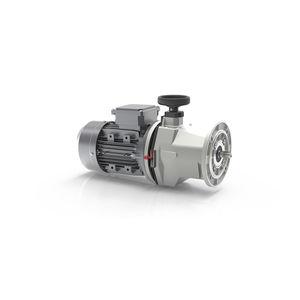variateur de vitesse mécanique avec réducteur à vis sans fin