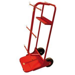 chariot de manutention / en acier / porte-bobine