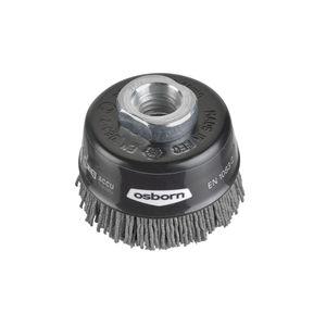brosse en coupe / de nettoyage / abrasive / en nylon