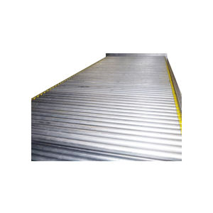 convoyeur à rouleaux / horizontal / courbe / gravitaire
