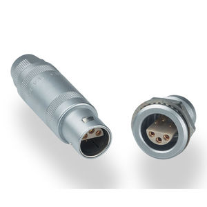 connecteur de données / coaxial / triaxial / push-pull