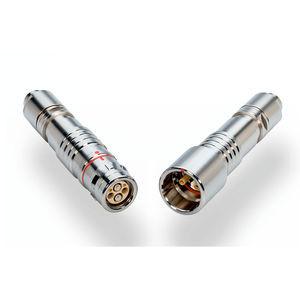 connecteur hybride / d'alimentation électrique / optique / de fibre optique