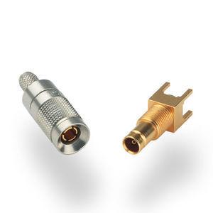 connecteur RF / DIN / coaxial / à sertir