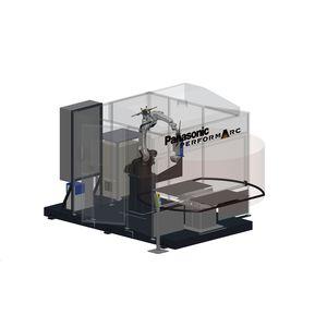 cellule robotisée de soudage à l'arc
