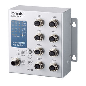 commutateur Ethernet non administrable / 8 ports / gigabit / à pose murale