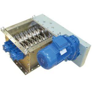 émotteur à deux cylindres / horizontal / de grande capacité