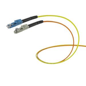 connecteur optique / de données / de fibre optique / droit
