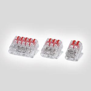 connecteur en fil de métal / d'alimentation électrique / rectangulaire / à insérer