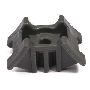 embase pour collier de serrage pour forte charge / en polyamide