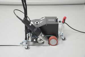 machine de soudage à air chaud / AC / automatique / pour toiture