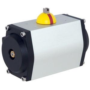 actionneur de vanne pneumatique / rotatif / à double effet / à pignon crémaillère