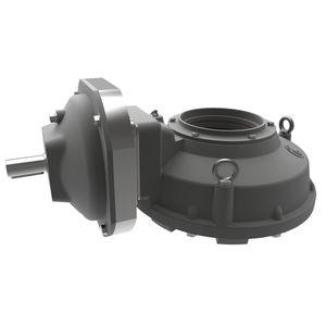 réducteur multi-tour / à couple conique / orthogonal / 2 - 5 kNm