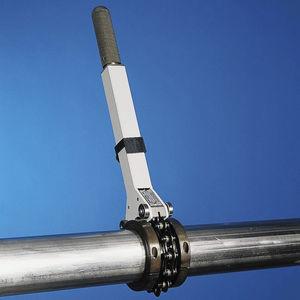 coupe-tube en métal / portatif / à chaîne / orbital