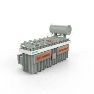 transformateur de puissance / immergé / pour four à arc électrique / à courant fort