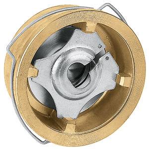 clapet anti-retour à disque / wafer / pour l'aéraulique / pour l'eau