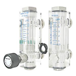 débitmètre à flotteur / pour eau / pour air / à tube en matière plastique