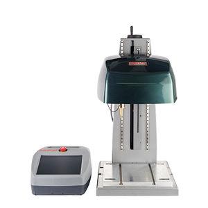 machine de marquage électromagnétique / par micro-percussion / benchtop / à petits caractères