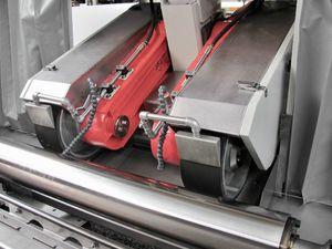 machine de finition polisseuse / rectifieuse / déchromage / linéaire