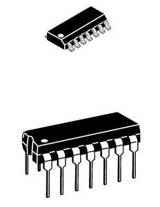 circuit intégré modem de communication