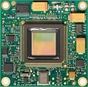 module de micro-caméra à émission optique à étincelles