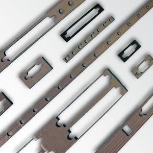 joint plat / en polyuréthane / en plastique / de blindage EMI