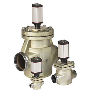 vanne de régulation de pression / de régulation de température / pour gaz / de faible encombrement