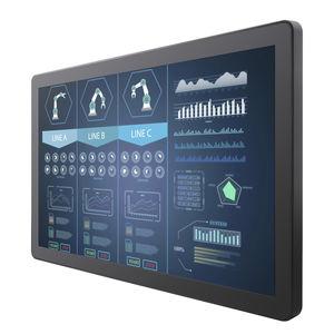 moniteur TFT / à technologie capacitive projetée / 21.5