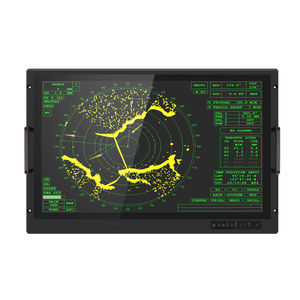 moniteur pour applications militaires / TFT-LCD / tactile / 32