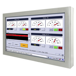 panel PC à écran tactile résistif à 5 fils