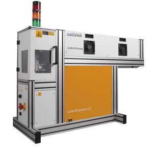 machine de gravure laser CO2 / pour verre correcteur / automatisée / manuelle