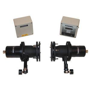 appareil de surveillance de concentration de poussières et d'opacité