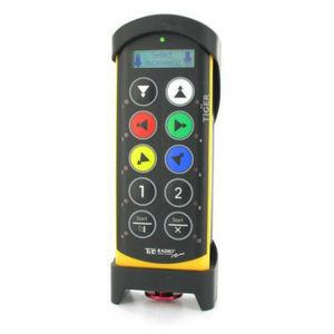 télécommande radio / à 10 boutons / IP65 / avec écran intégré