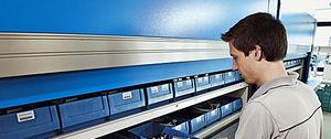 stockeur rotatif vertical / pour outils