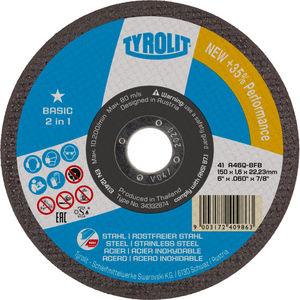 disque à lamelle pour acier inoxydable