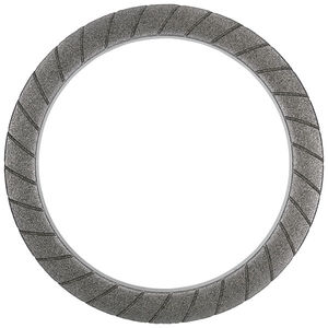 meule de traitement de surface / plate / périphérique / CBN à liant céramique