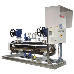 réchauffeur pour vapeur / à circulation / haute température / électrique