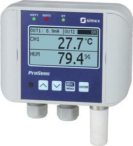 régulateur de température avec régulation d'humidité / avec afficheur LCD / sans affichage / programmable