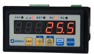 indicateur de pesage affichage à LED / encastrable / IP65 / pour balance plate-forme