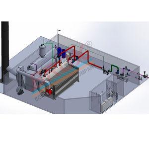 chaudière à vapeur / à fuel / à gaz naturel / à combustible solide